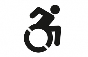 Icon of person in wheelchair